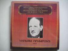 William Primrose - viola , Brahms LP