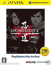 Shinobido 2 Sange the Best PS Vita Sony Japanese Japanzon