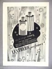 Lentheric Iceberg Perfume PRINT AD - 1941 ~~ Eau de Cologne