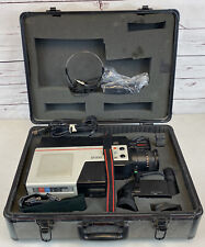 Rca Vhs Camcorder Cmr300 with Case & Many Accessories No Battery Vintage