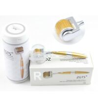 100% Auth ZGTS192 Titanium Alloy Micro Needle Derma Roller Anti Aging Acne Scar