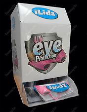 iLidz UV eye protection Indoor/Outdoor sunbed tanning goggles