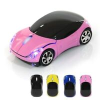 Wireless Silent USB Optical Ergonomic Gaming Mouse Car Shape For Windows Macbook