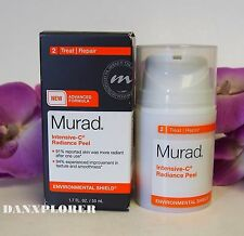 MURAD INTENSIVE C RADIANCE PEEL 1.7oz or 50ml, NEW IN BOX !!! FAST SHIPPING!!