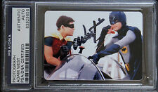 ADAM WEST PSA DNA CERTIFIED AUTOGRAPHED PHOTO SIGNED BATMAN AND ROBIN PICTURE
