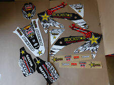 Rockstar PTS  team graphics Honda CRF450 CRF450R  2005 2006 2007 2008