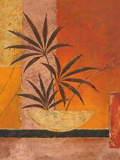 Claudia Ancilotti: bronce Bambú 60x80 camilla-imagen de Pantalla Bambú Feng-shui