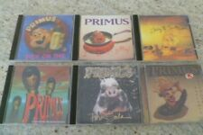 PRIMUS - LOT OF METAL CD'S X 6 - GREAT / EXCELLENT CONDITION