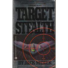 TARGET STEALTH Jack Merek PB 1990 1st M2