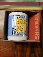 "ShoeBox Coffee Mug ""Once You're my Age, Coffee Sex Substitute"" new in box"