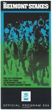 EASY GOER & SUNDAY SILENCE IN 1989 BELMONT STAKES PROGRAM!! NEAR-MINT CONDITION!