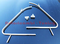 2 Cornici Cromate Telaio Deflettore Dx+Sx FIAT 500 D F L R Alta Qualità  V028