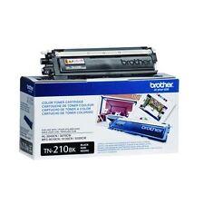 Brother TN210BK LOT OF 4PCS  Toner Cartridges TN210BK Black, Factory Sealed