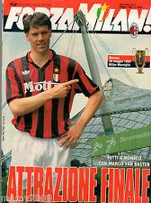 FORZA MILAN!=N°5 1993=PROGRAME MILAN-MARSIGLIA FINALE COPPA DEI CAMPIONI 92/93