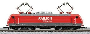 88193 Marklin Z-scale 5-pole Electric Locomotive BR 189 Raillion 4 pantographs