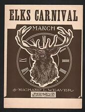 Elks Carnival March Sheet Music