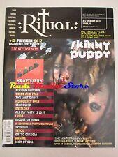 Rivista RITUAL: 17 2004 Skinny Puppy Gatto Ciliegia Kraftwerk Lycia Tesco NO cd