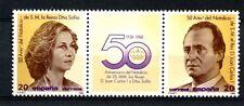 Spain 1989 SG#2943-4 50th Birthdays MNH Gutter Pair Set #A23324