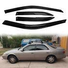For Toyota Camry 1997-2001 Sedan Window Visors Sun Rain Guards Wind Deflectors