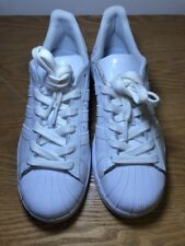 Adidas White Superstar For Men Size 5 New Without Box And Some Minor Stains