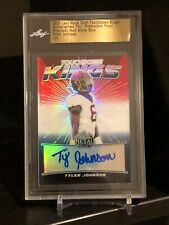 2020 Leaf Metal Pre Prismatic Red White Blue Auto 1/1! Tyler Johnson Buccaneers