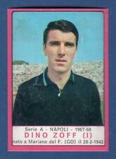 FIGURINA CALCIATORI PANINI 1967/68 - ZOFF - NAPOLI