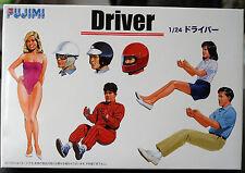Garage & Tools Drivers Fahrer, Fahrerin, Rennfahrer, 1:24, Fujimi 11004 114910
