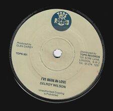 DELROY WILSON I've Been In Love Vinyl Record Single 7 Inch Tops 1977 Reggae Ska