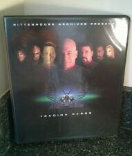 Star Trek Nemesis Movie Trading Cards Collectors Binder Album Shinzon Tom Hardy