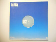 "MAXI 12"" ▒ MOBY : IN THIS WORLD (PROMO REMIXES)"