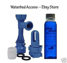 Waterbed Fill & Drain Kit With a 4oz Bottle of Premium Water Bed Conditioner