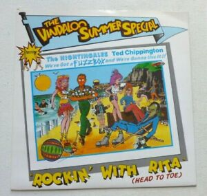"""THE VINDALOO SUMMER SPECIAL Rockin' with Rita (Head to toe) UK 7"""" Fuzzbox etc"""