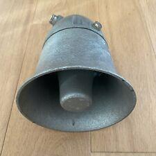 Ancien Haut Parleur ❤️ Diffuseur Vintage Métal Magnétophone ERREM made in France