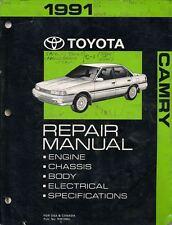 1991 Toyota Camry Shop Service Manual