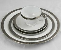Polo Ralph Lauren Academy Platinum 5 Piece Place Setting NWT Multiple Available