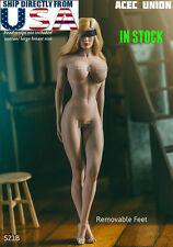 TBLeague PHICEN 1/6 Female Seamless STRONG LEG Body L Bust SUNTAN S21B U.S.A.
