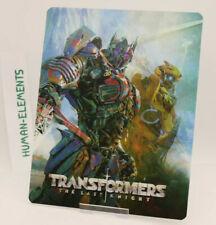 TRANSFORMERS LAST KNIGHT - Lenticular 3D Flip Magnet Cover FOR steelbook