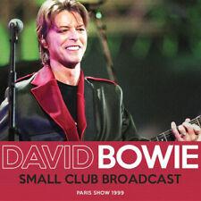 David Bowie : Small Club Broadcast CD (2019) ***NEW***