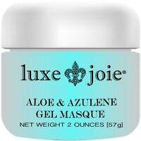 Aloe & Azulene Gel Masque Hydrating Lavender Spa Treatment Facial Masque