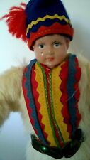 New ListingVintage Lapland Celluloid Doll