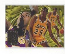1994-95 FLAIR BASKETBALL WAVE OF THE FUTURE EDDIE JONES #4 OF 10 - LA LAKERS