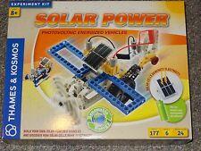 Thames & Kosmos Solar Power photovoltaic Energized Vehicles Science Kit