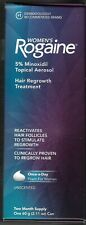 Women's Rogaine, Hair Regrowth Treatment, 3 boxes, 6-month supply, foam, new