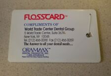 World Trade Center - Twin Towers - 9/11 - WTC Dental Group Flosscard