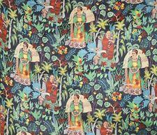 Cotton 5 Yard Fabric Frida Kahlo Fabric Garden Mexico Queen Print