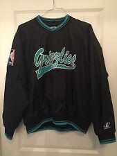 Vintage Vancouver Memphis Grizzlies Pullover Jacket Sz. M Retro NBA Nylon