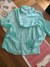 & Other Stories 100% silk Blouse Top Shirt - Size 34 XS