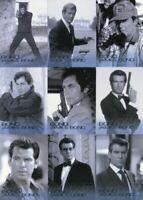 James Bond 50th Anniversary Series One Bond James Bond Chase Card Set 11 Cards