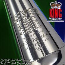 "Vintage ""Silver King"" Clarinet Sterling Silver Bell Fantastic"