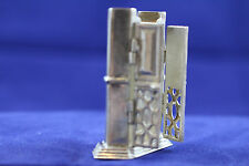 GREAT OLD STERLING SILVER CABINET DOLL HOUSE MINIATURE STERLING SILVER  R.E.O